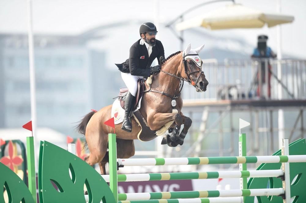 مشاركة فريدة لمنتخب البحرين لقفز الحواجز في بطولة الألعاب الآسيوية