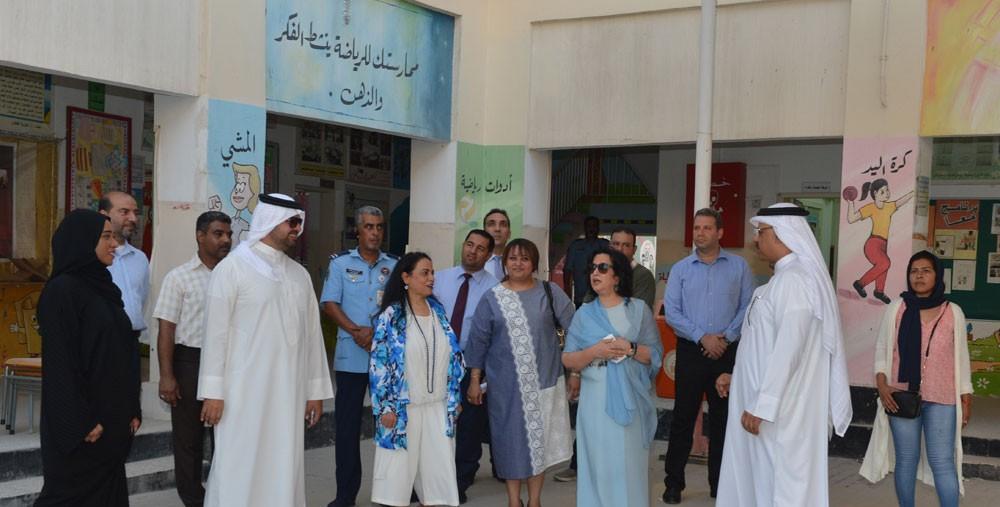 الشيخة مي: المباني التعليمية قيمة تاريخية وتساهم في التعريف بتاريخ البحرين