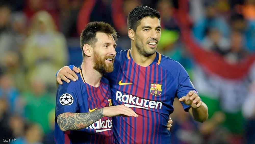"""سواريز: ميسي يضغطنا.. وما فعله ريال مدريد """"شوكة بالخاصرة"""""""