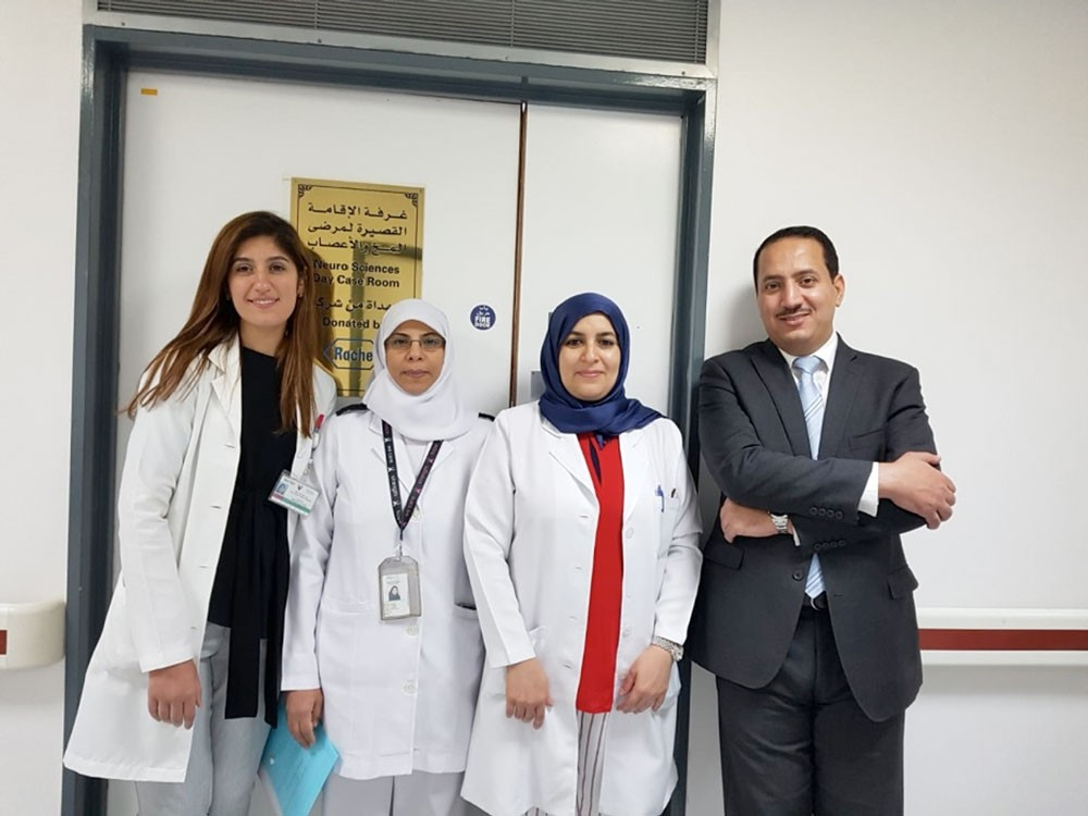 الهاشل يواصل تشخيص وعلاج 34 حالة بدائرة العلوم العصبية في السلمانية