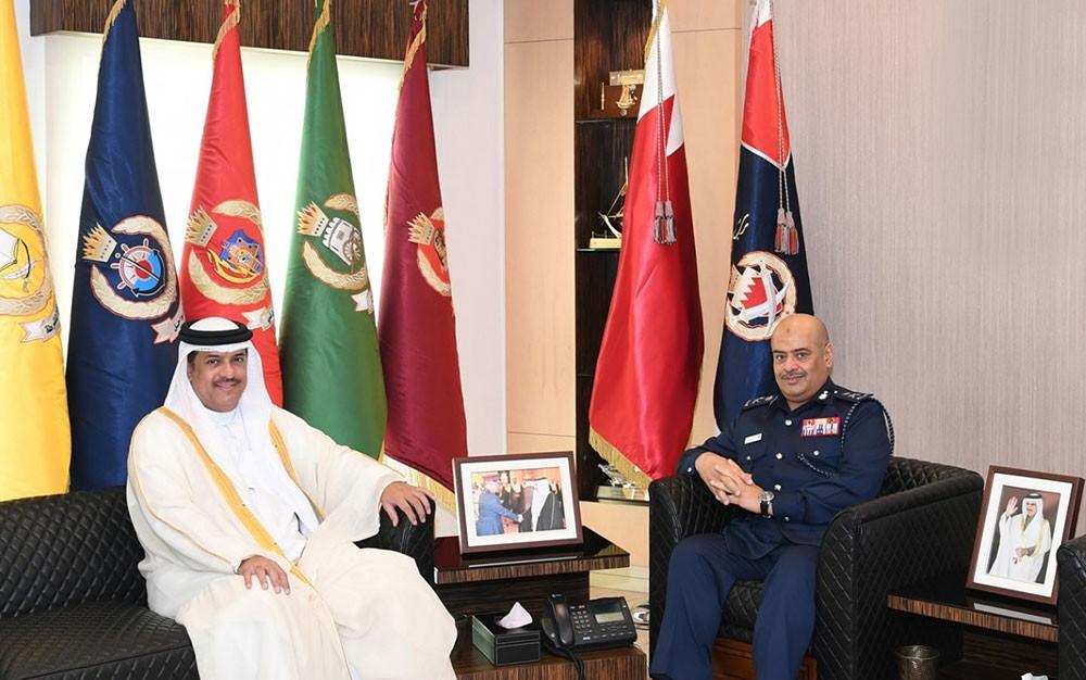 رئيس الأمن العام يبحث مع مساعد وزير الخارجية تطوير آليات التعاون في مجال حقوق الإنسان