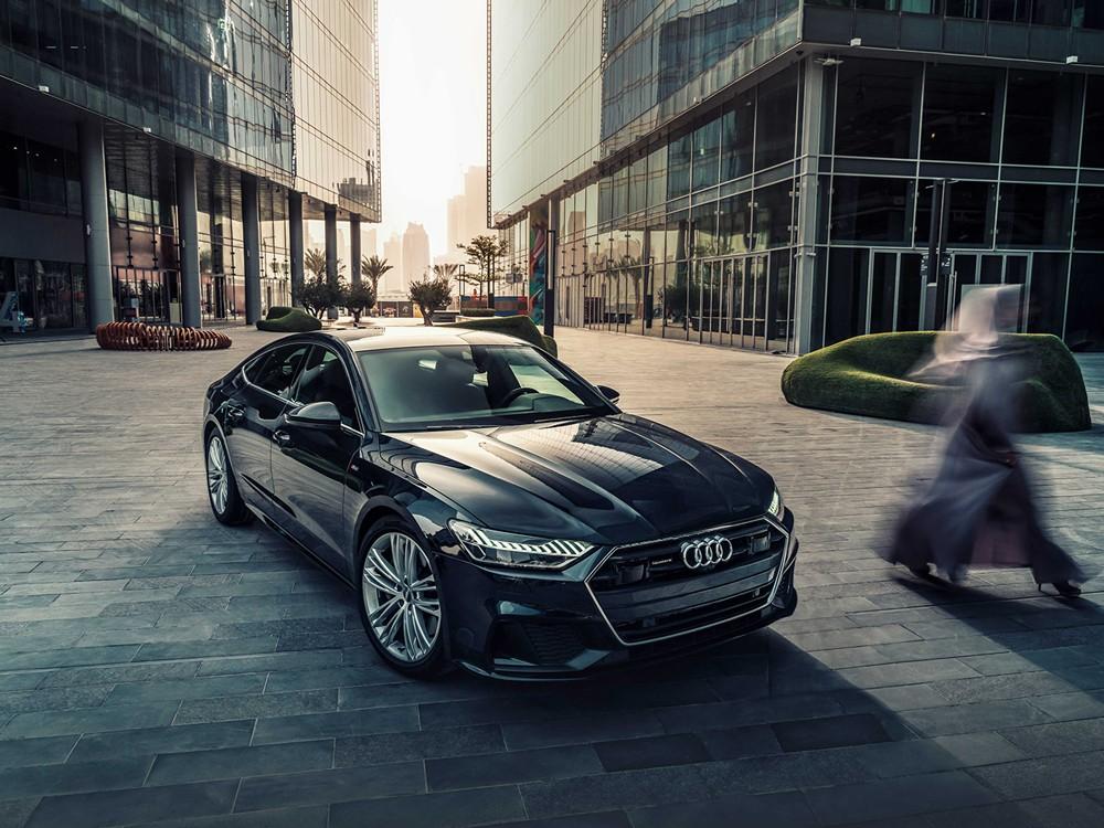 Audi A7 Sportback الجديدة: متوفرة الآن