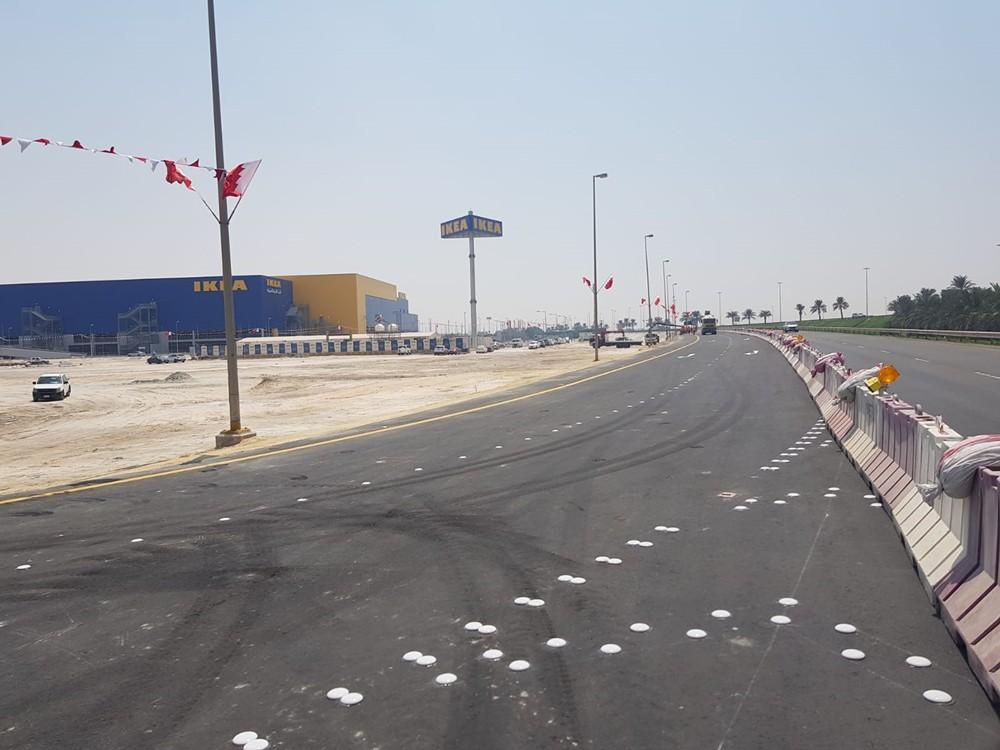 """""""الأشغال"""" تنتهي من إنشاء منفذ جديد للمنطقة الصناعية والتجارية بسلماباد"""