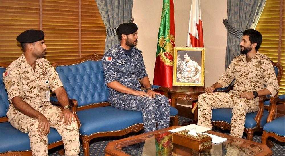 سمو قائد الحرس الملكي يستقبل المشاركين في مهمة إغاثة اللاجئين في البحر الأبيض المتوسط