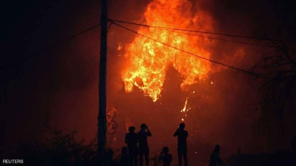 سقوط قذائف صاروخية على المنطقة الخضراء في بغداد