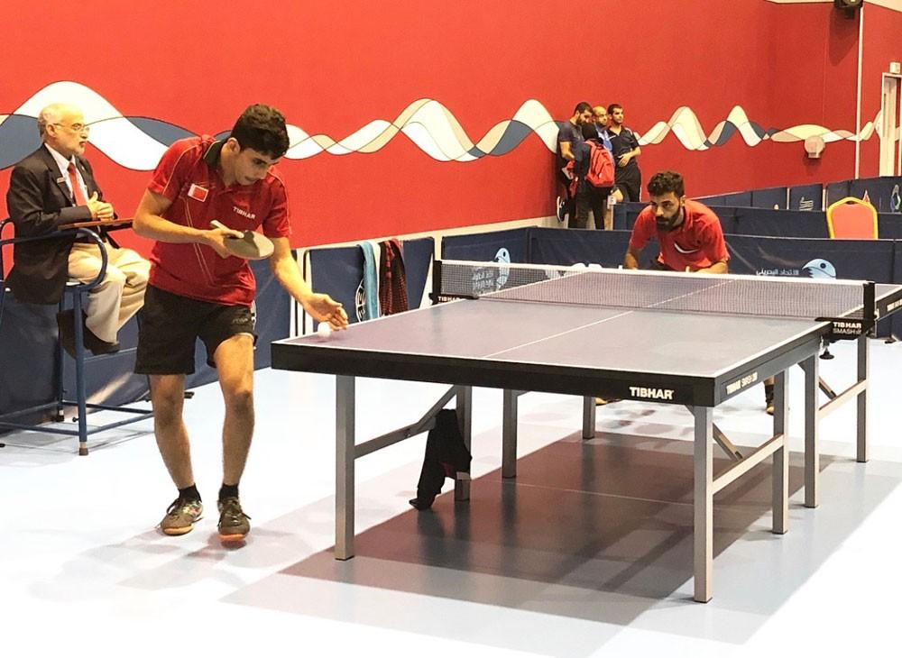 إبراهيم حبيب يحصد لقب فردي الأشبال بكأس الاتحاد لكرة الطاولة