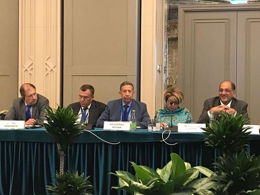 الدكتور منير بوشناقي يشارك في المنتدى العالمي للتراث بمدينة كازان