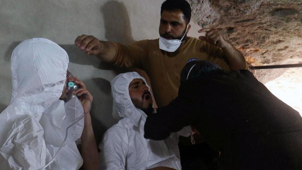 أميركا: النظام السوري يستعد لاستخدام الكيمياوي بإدلب