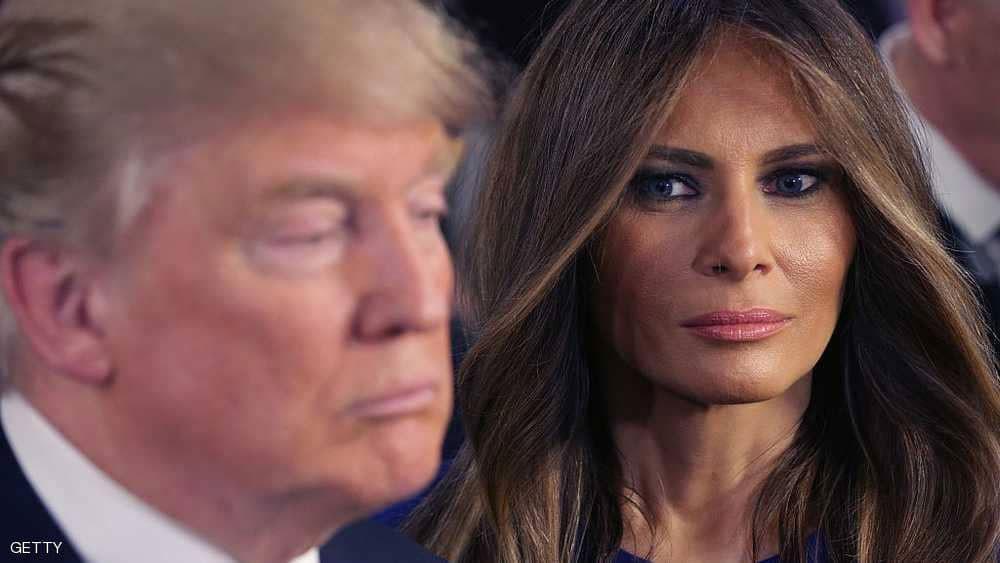 """ميلانيا تخلت عن ترامب بسبب """"الشريط الفاضح"""""""