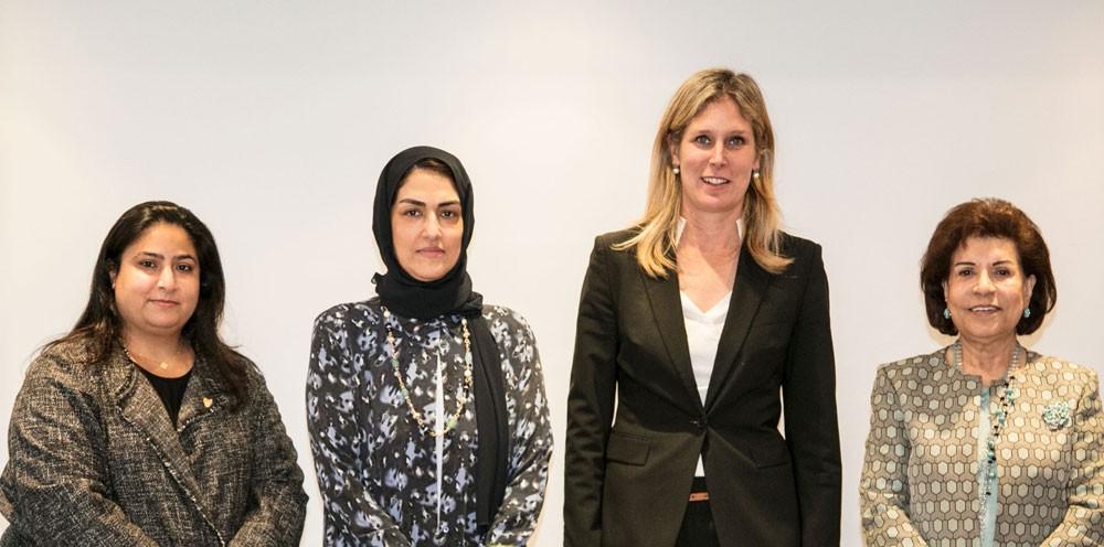 الأنصاري تشيد بدور المنتدى العالمي للقيادات السياسية في الترويج لجائزة الأميرة سبيكة العالمية