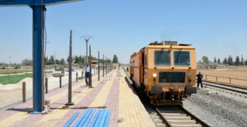 قطارات سوريا تستعيد عافيتها تدريجياً وتستعد لمرحلة إعادة الاعمار