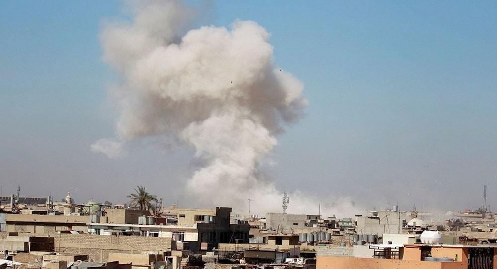الخارجية العراقية تدين قصف إيران لأراضيها