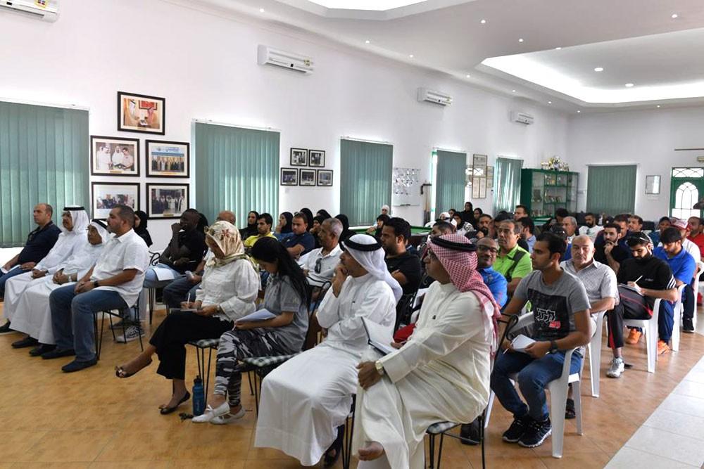 62 مشارك يستفيدون من ورشة ادارة الفعاليات بنادي البحرين للتنس