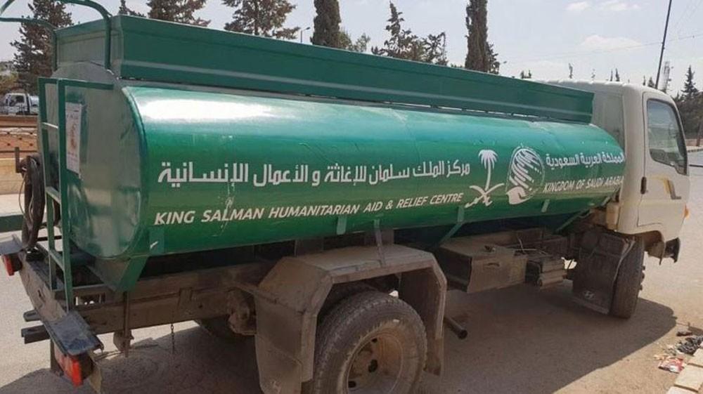 مركز الملك سلمان للإغاثة يقدم مساعدة لقرى الشمال السوري