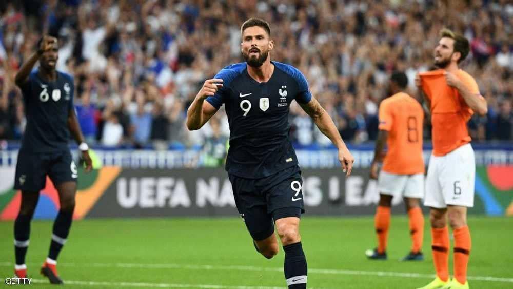 فرنسا تكرم وفادة المنتخب الهولندي