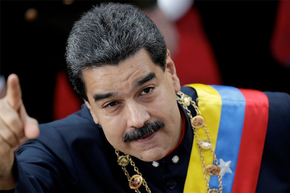 فنزويلا تدعو الى مسيرة احتجاجا على تقارير عن خطة اميركية للإطاحة بمادورو