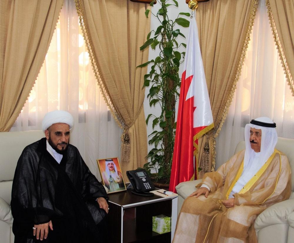 رئيس الأعلى للشئون الإسلامية يستقبل الشيخ التوبلاني ويهنئه بسلامة العودة
