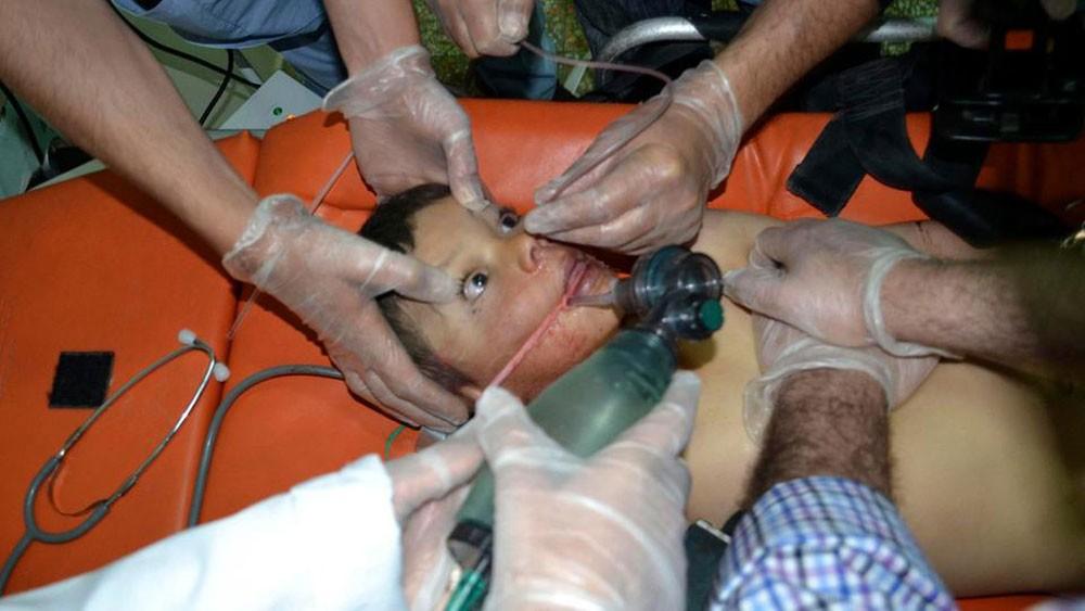 """فصائل معارضة سورية """"تعد لسيناريو هجوم كيمياوي"""""""