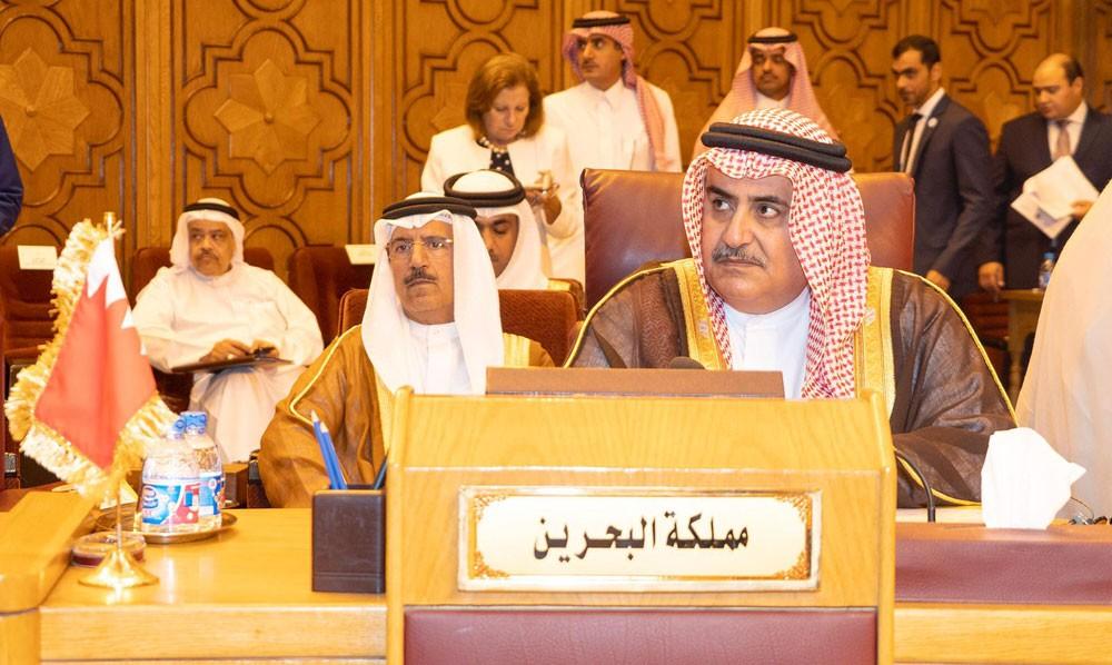 البحرين تقدم ملف بالجامعة العربية حول تورط إيران في دعمها الإرهاب