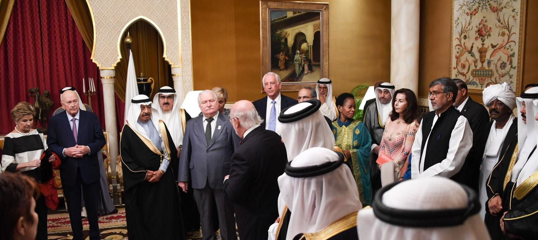 سمو رئيس الوزراء: زيارة رؤساء الدول الحائزين على نوبل تاريخية ولا تنسى