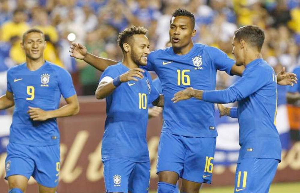 البرازيل تسحق السلفدور وديا 5-صفر