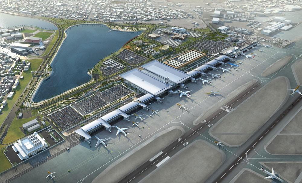 عرض الوجهات والتطورات الجديدة بمطار البحرين الدولي