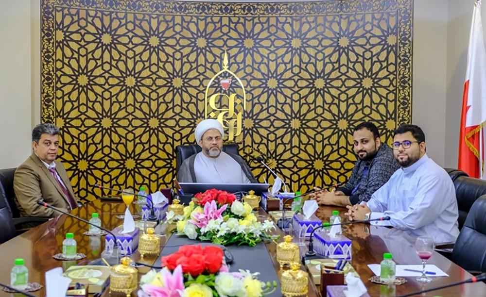 """الأوقاف الجعفرية تدعم جمعية """"إمداد"""" بـ 100 ألف علبة لتوزيع الطعام"""