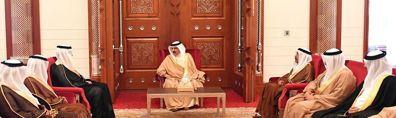 جلالة الملك يشيد بالعلاقات الأخوية التاريخية بين البحرين والسعودية