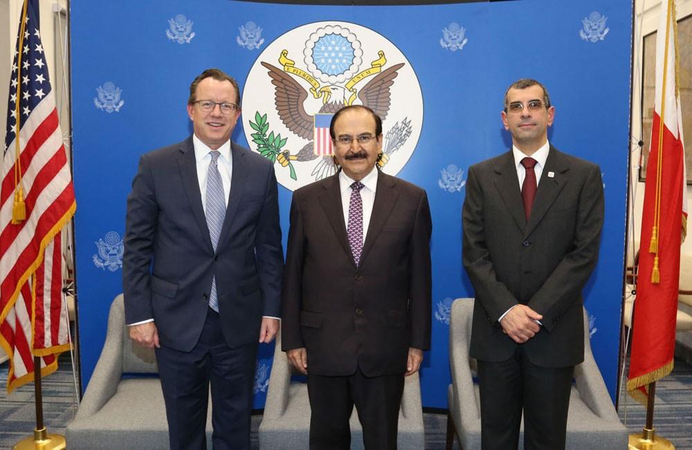 ميرزا يقدم ندوة بالسفارة الأمريكية حول الفرص الاستثمارية المتاحة
