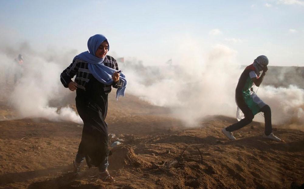 مقتل فلسطينيين برصاص إسرائيلي على حدود غزة
