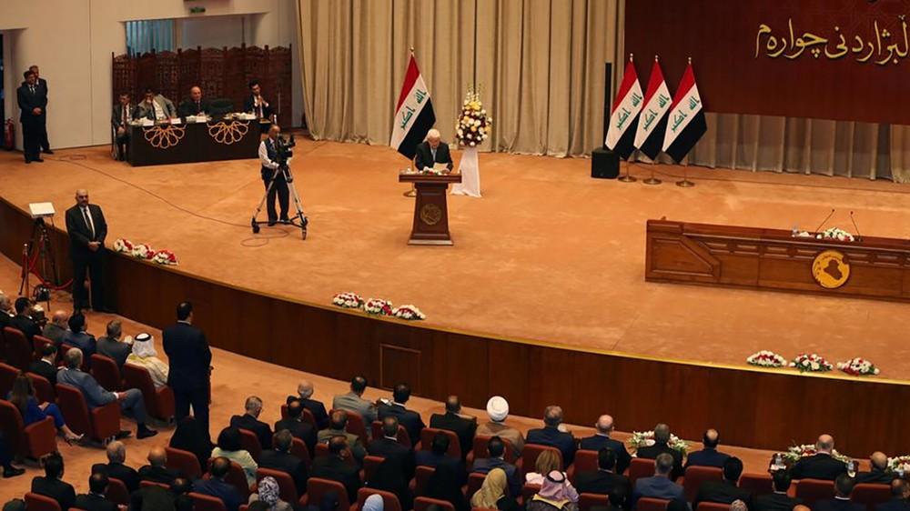 البرلمان العراقي يبدأ تصويتاً سرياً لاختيار رئيس له