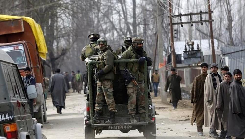 الجيش الهندي قتل خمسة متمردين في كشمير