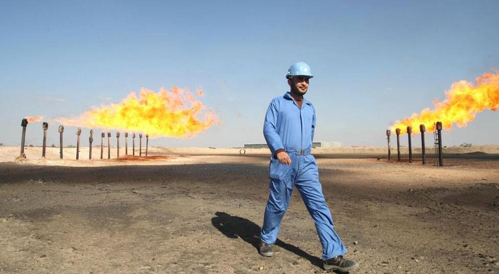 العراق يبدأ إنتاج الغاز من حقل الناصرية النفطي