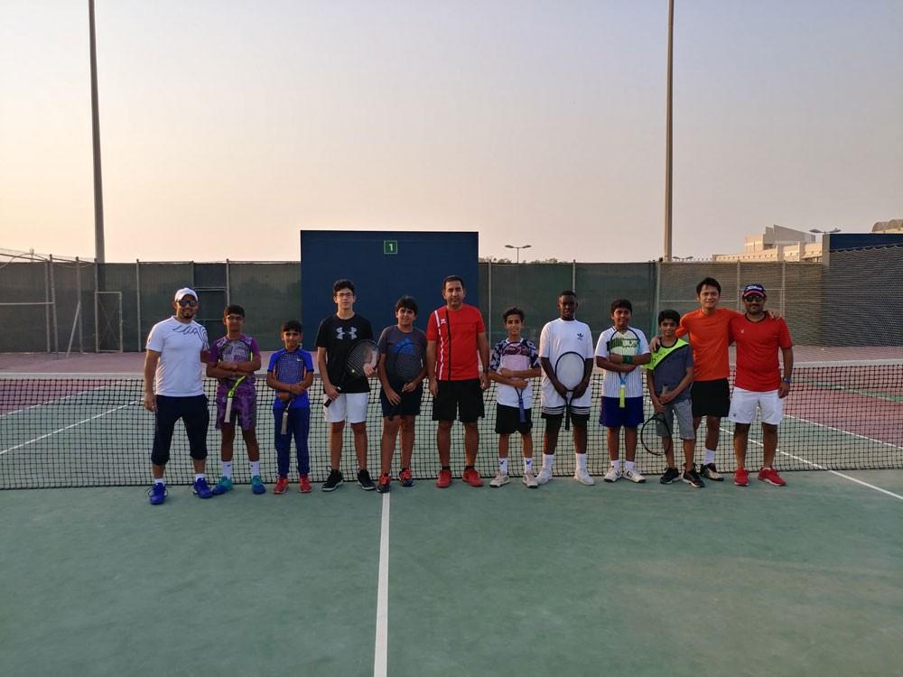 اقامة منافسات الدور نصف النهائي لبطولة البحرين المفتوحة للناشئين