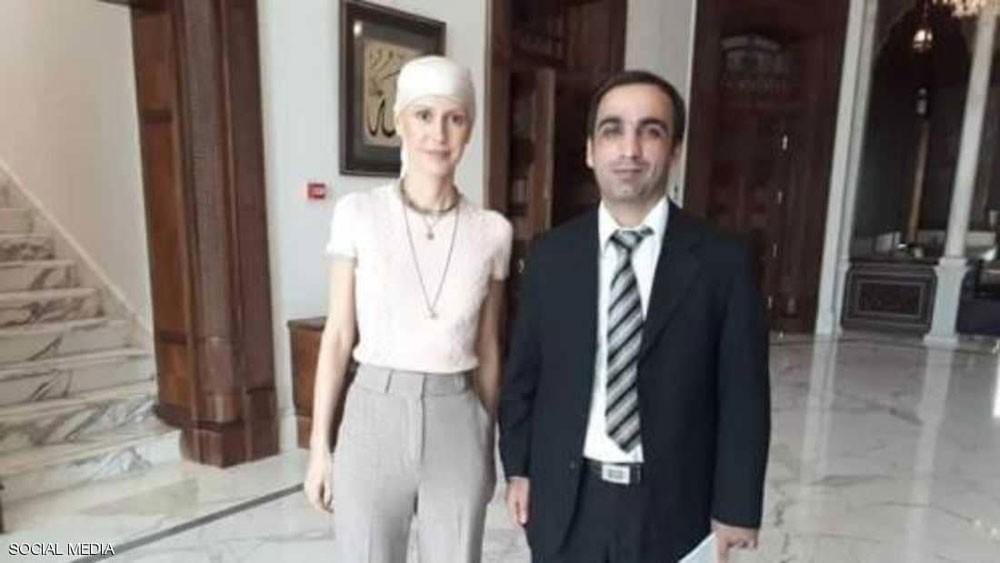 """أسماء الأسد تظهر في صور """"مختلفة تماما"""" بعد بدء العلاج"""