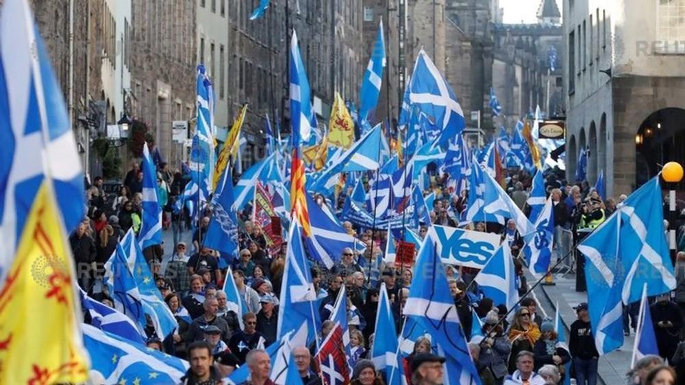 اسكتلندا.. حشود تطالب بالانفصال عن المملكة المتحدة