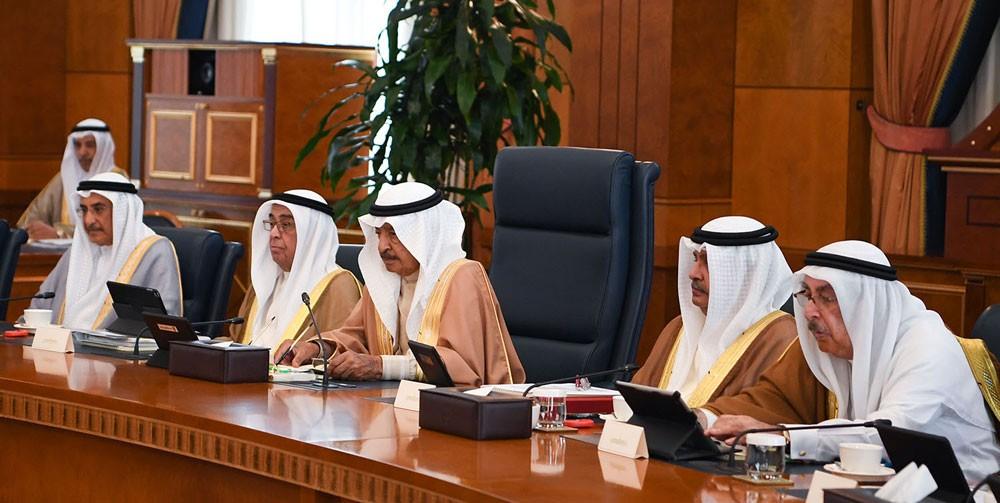 مجلس الوزراء يعرب عن تقديره لمواقف المملكة العربية السعودية و الإمارات و الكويت المساندة لمملكة البحرين