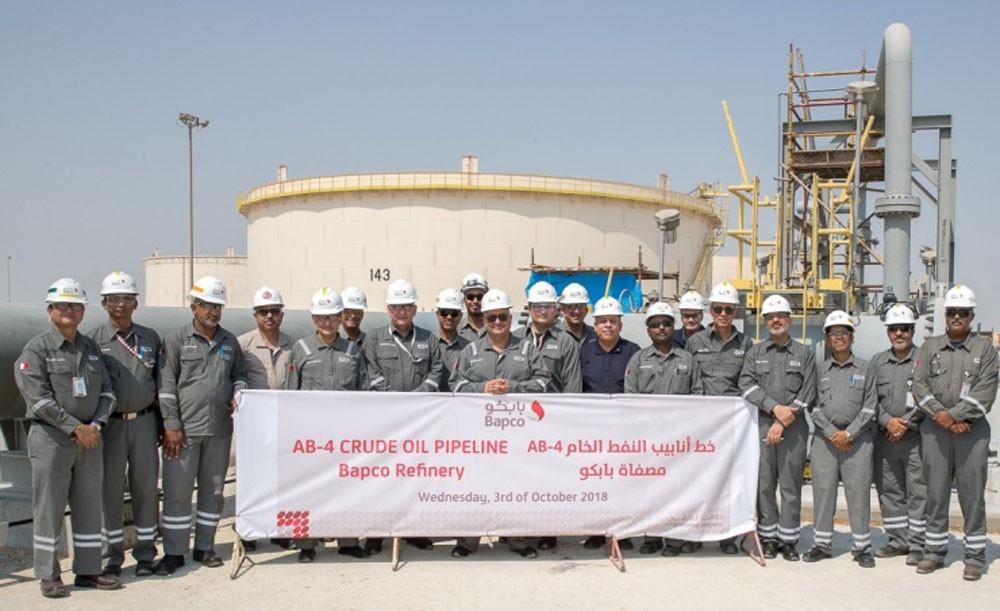 بابكو تعلن عن استكمال مشروع خط الأنابيب الجديد