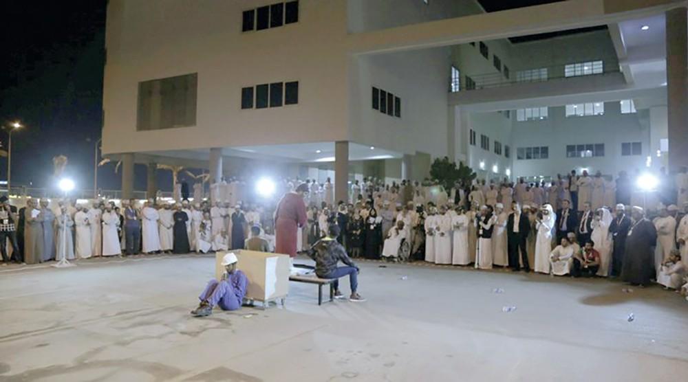 عبدالله ملك في مهرجان الدن العربي بعمان