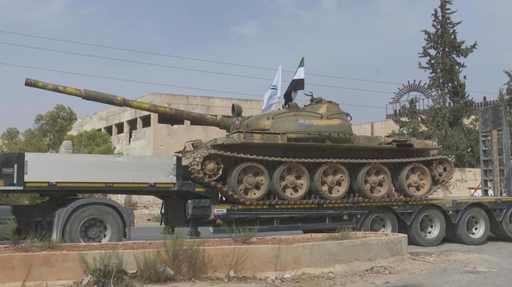 الائتلاف عن سحب السلاح الثقيل من إدلب: فرصة لترتيب الصف