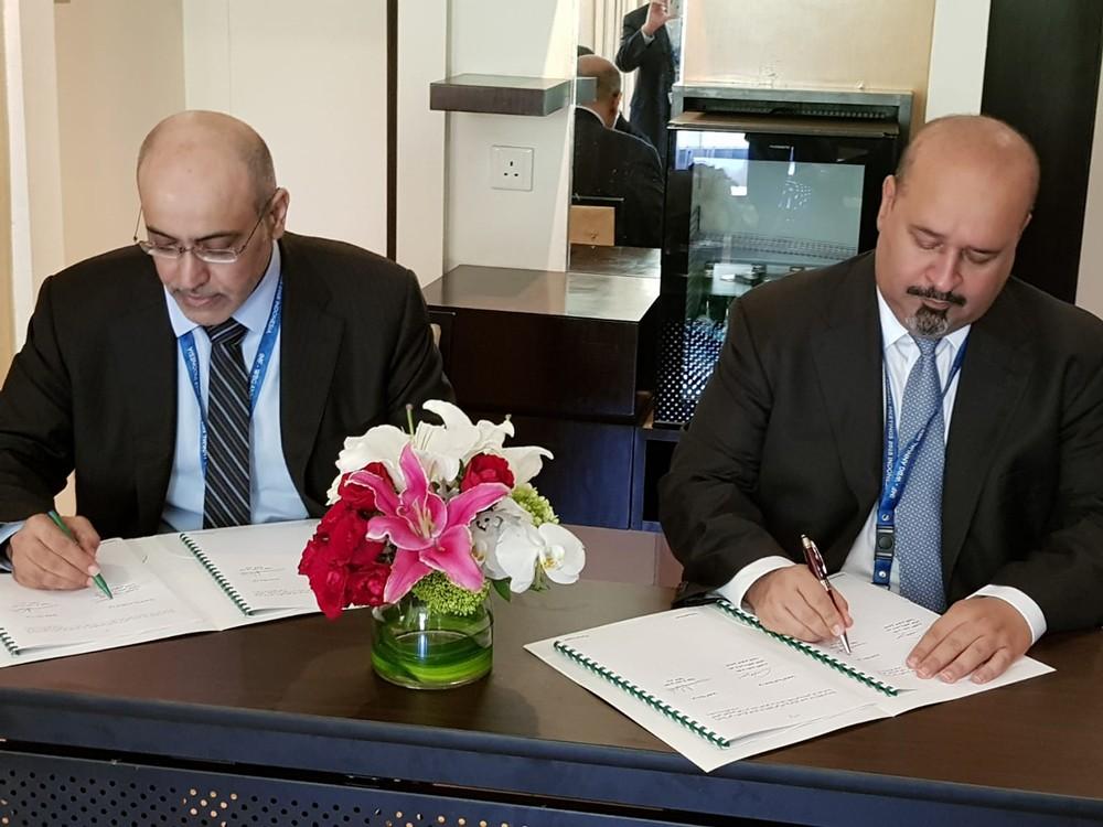 التوقيع على اتفاقيتين مع الصندوق السعودي لتمويل مشروعين