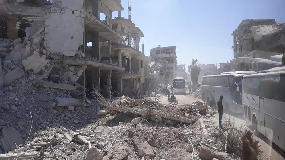 بومبيو: لن نموّل إعمار سوريا طالما قوات إيران هناك