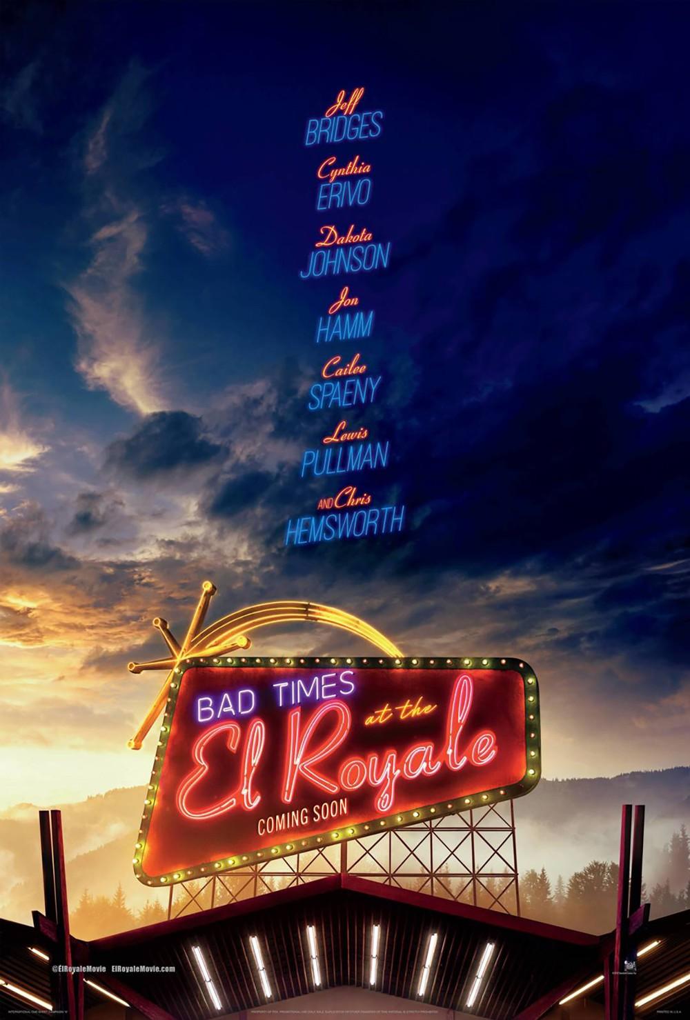 شاهدت لكم: فيلم الاثارة Bad Times at the El Royale