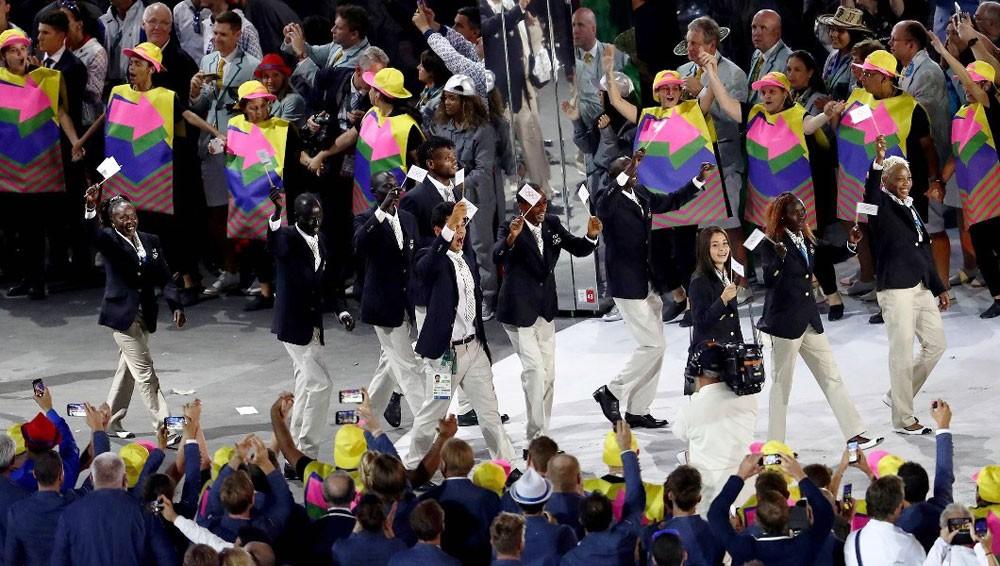 فريق من اللاجئين يشارك في اولمبياد طوكيو