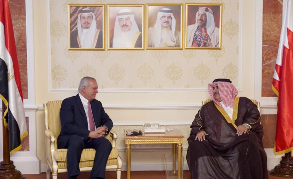 وزير الخارجية يجتمع مع وزير خارجية مصر الأسبق