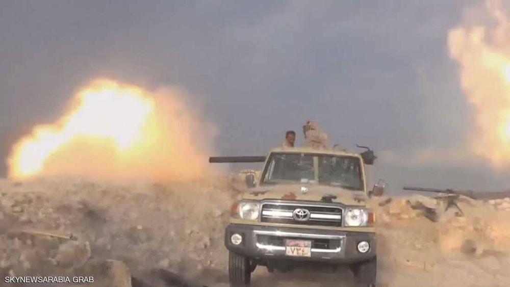 قوات دعم الشرعية تسيطر على مواقع استراتيجية بمعقل الحوثي