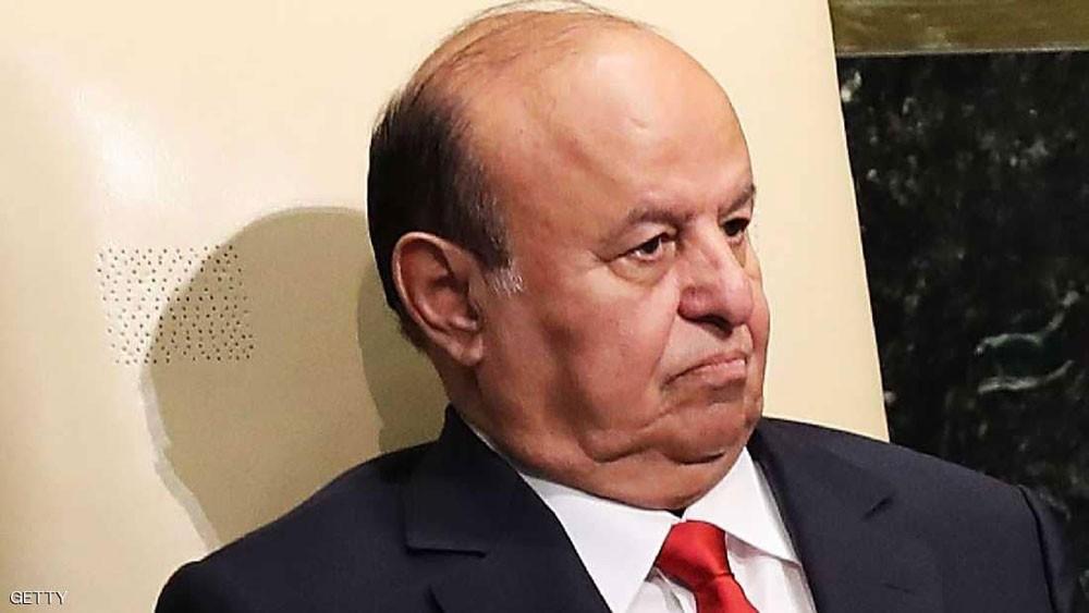 هادي : إيران تدعم أطرافاً جنوبية على غرار دعمها للحوثيين