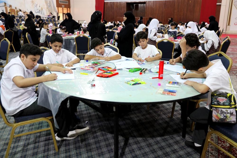 """""""التربية"""" تنظم فعـالية مراسـم فن الطفـــل بمشاركة 558 طالبًا موهوبًا"""