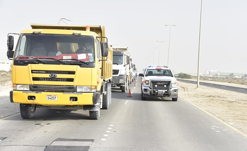 المرور: ضبط 23 ألف مخالفة لشاحنات مخالفة اشتراطات الأمن والسلامة