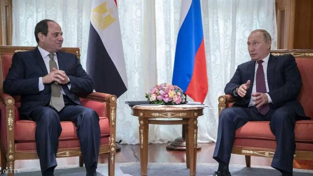 السيسي وبوتن.. 9 لقاءات في 5 سنوات